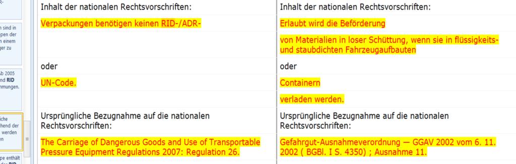 Bild Dokumenteninhaltsvergleich im Normenmanagement